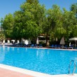Swimming pool in the open air, Turkey — Stock Photo #26396581