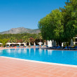 Swimming pool in the open air, Turkey — Stock Photo #26396585