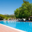 Swimming pool in the open air, Turkey — Stock Photo