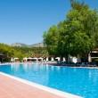Swimming pool in the open air, Turkey — Stock Photo #26396593