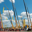 International exhibition Construction equipment and technologies on JUNE 06, 2013 in Moscow, Russia. — Stock Photo
