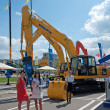 International exhibition Construction equipment and technologies on JUNE 06, 2013 in Moscow, Russia. — Stock Photo #26445479