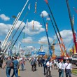 International exhibition Construction equipment and technologies on JUNE 06, 2013 in Moscow, Russia. — Stock Photo #26445487
