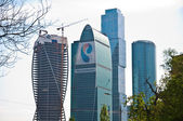 "Business center ""Moscow City"", Russia — Stock Photo"