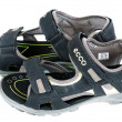 "Children's sandals ""Ecco"" for a boy — Stock Photo"