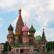 St Basils cathedral on Red Square in Moscow Russia — Stock Photo