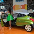 Eco-friendly concept car Suzuki G70 at MIAS 2012. Russia, Moscow — Stock Photo