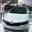 Skoda concept car Mission L at the Moscow International Motor Show in September 2012, Russia — Stock Photo