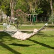 Empty hammock outdoors — Stock Photo #39082409