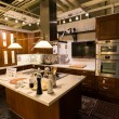 "Kitchen in furniture store ""Ikea"" — Stock Photo #40498561"