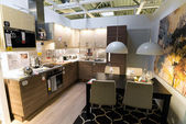 "Kitchen in the furniture store ""Ikea"" — Stock Photo"