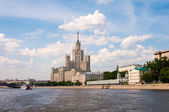 Moscow, Stalin-era building on Kotelnicheskaya Embankment — Stockfoto