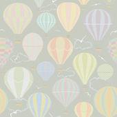 Air ballooning — Stock Vector