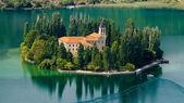 The Visovac Monastery — Stock Photo