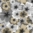 Vector seamless floral background — Stock vektor