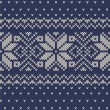 Vector knitted background — Vettoriale Stock #36659589