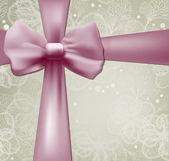Piękne wakacje tło z łuku różowe — Wektor stockowy