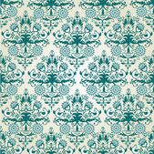 Seamless wallpaper pattern — Stok Vektör
