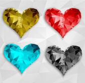 Coeur de vecteur. Saint-Valentin. Eps 10 — Vecteur