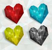 Vector heart. Valentines day. EPS 10 — Stockvector