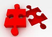 Puzzle concept — Stock Photo