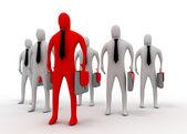 Leader business concept — Стоковое фото