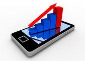 Smartphone concept — Stock Photo