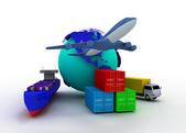Transport concept — Stock Photo