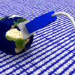 Earth globe with network cable — Stock Photo #28237599