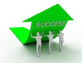 成功のコンセプト — ストック写真