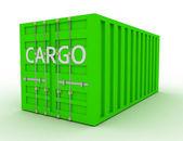 Cargo concept — Stock Photo