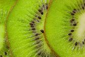 Background with kiwi slices — Stock Photo