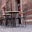 Stock Photo: Cafe on street