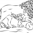 Lion — Stock Photo #24038017