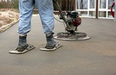 Concreting the Floor — Stock Photo