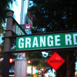 Grange Road — Stock Photo