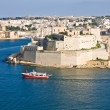 Grand Harbor, Valetta, capital of Malta — Stock Photo #13901337