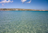 Mellieha bay, Malta — Stock Photo