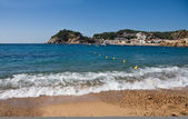 Costa Brava beach in Tossa de Mar, Catalonia, Spain — Stock Photo