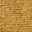 Yellow brick wall texture — Stock Photo