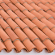 Roof tiling — Stock Photo