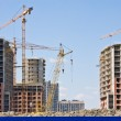 Construction of apartment buildings — Stock Photo #48685115