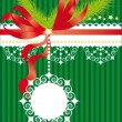 Royalty-Free Stock Vector Image: Green christmas background