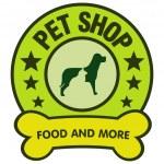 Petshop vector logo — Stock Vector