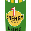 Stock Photo: Energy drink
