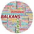 Balkans collage — Stock Photo