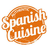 Authentic spanish cuisine — Stock Vector