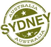 Timbro di sydney — Vettoriale Stock