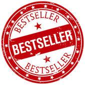 Bestseller-stempel — Stockvektor