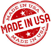 Made in usa stamp — Stock Vector
